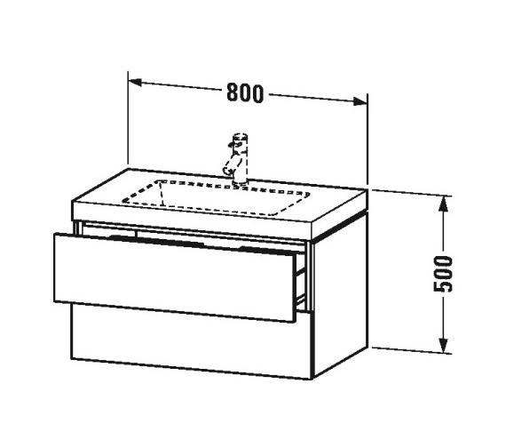 Technical drawing QS-V80810 / LC6927N1818