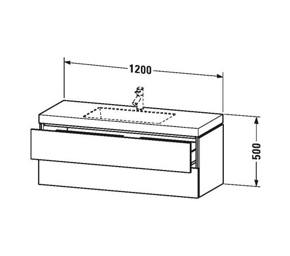 Technical drawing QS-V80812 / LC6929N1818