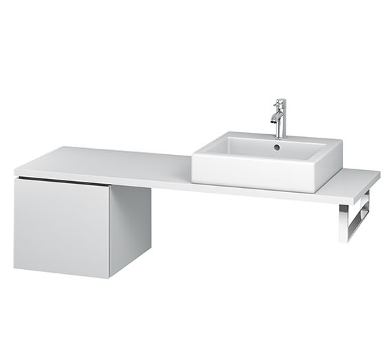 Duravit L-Cube 420mm 1 Drawer Floor Standing Vanity Unit For Console