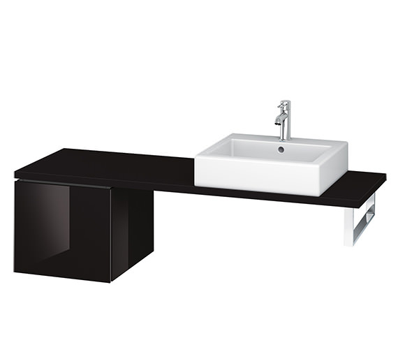 Alternate image of Duravit L-Cube 420mm 1 Drawer Floor Standing Vanity Unit For Console