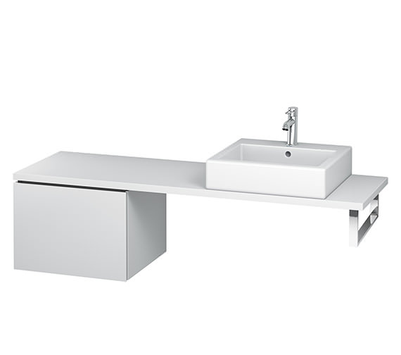 Duravit L-Cube 520mm 1 Drawer Floor Standing Vanity Unit For Console