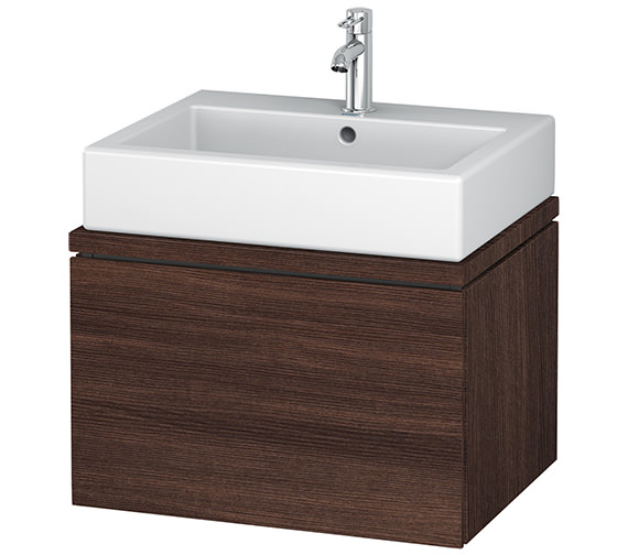 Alternate image of Duravit L-Cube 620mm White Matt 1 Drawer Vanity Unit For Console