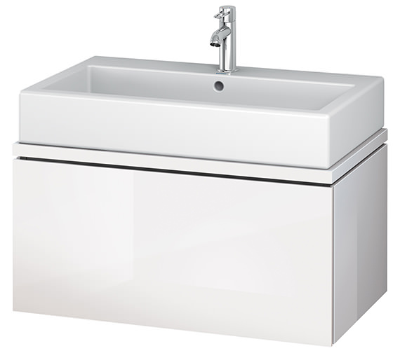 Alternate image of Duravit L-Cube 820mm 1 Drawer Vanity Unit For Console