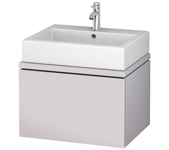 Alternate image of Duravit L-Cube 620mm 1 Drawer Vanity Unit For Console