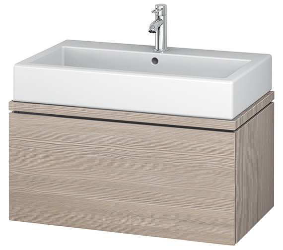 Additional image of Duravit L-Cube 820mm 1 Drawer Vanity Unit For Console