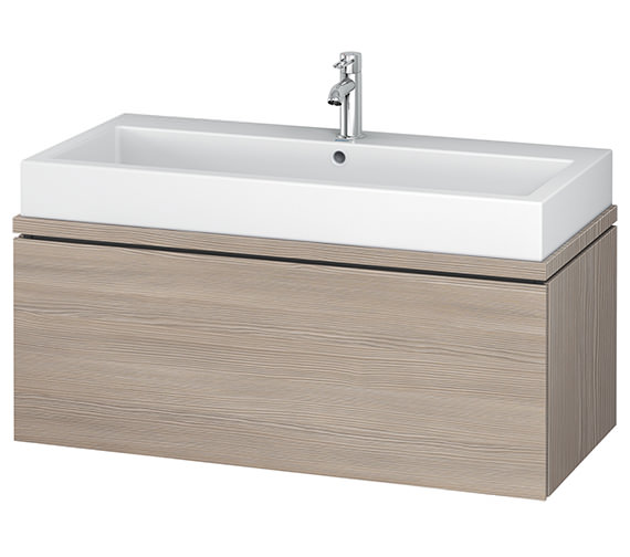 Additional image of Duravit L-Cube 1020mm 1 Drawer Vanity Unit For Console