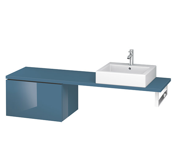 Alternate image of Duravit L-Cube 620mm 1 Drawer Floor Standing Vanity Unit For Console