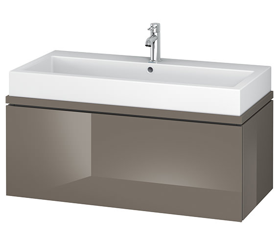 Alternate image of Duravit L-Cube 1020mm 1 Drawer Vanity Unit For Console