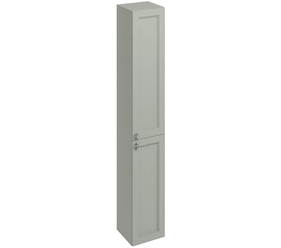 Additional image of Burlington 300mm Double Door Tall Base Unit Matt White