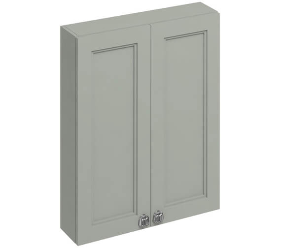 Additional image of Burlington 600mm Double Door Cabinet Matt White