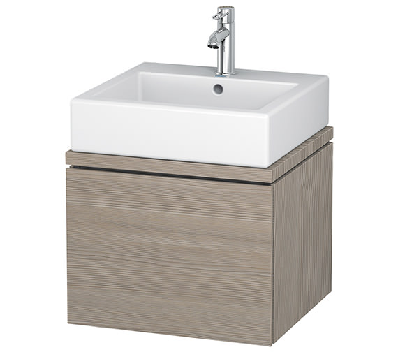 Additional image of Duravit L-Cube 520mm White Matt 1 Drawer Vanity Unit For Console