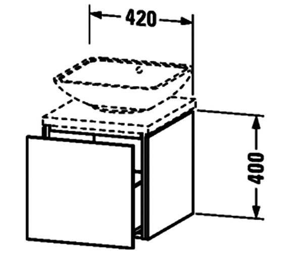 Technical drawing QS-V63364 / LC680901818