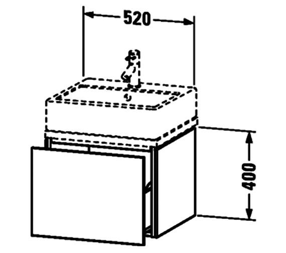 Technical drawing QS-V63365 / LC681001818