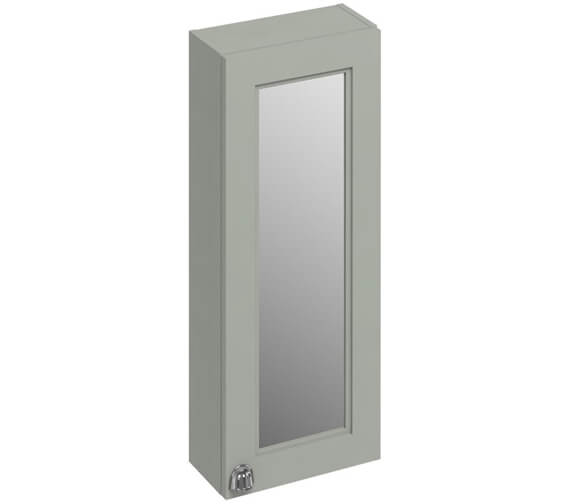 Additional image of Burlington 300mm Single Door Mirror Cabinet Matt White