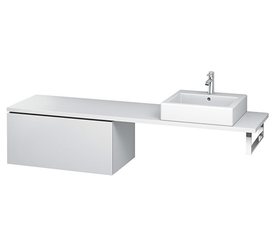 Duravit L-Cube 820mm 1 Drawer Floor Standing Vanity Unit For Console
