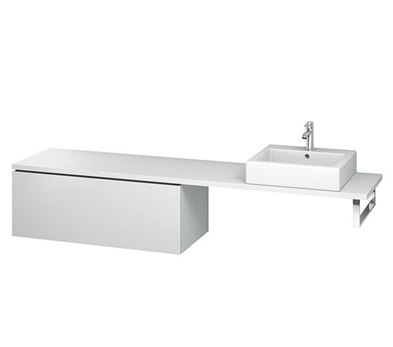 Duravit L-Cube 1020mm 1 Drawer Floor Standing Vanity Unit For Console