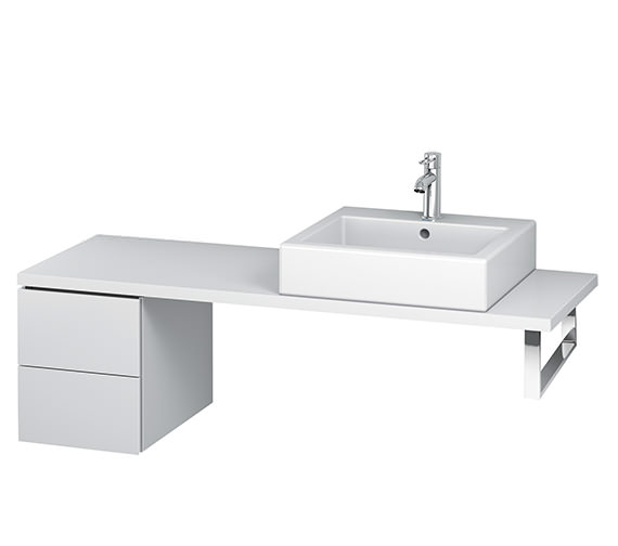 Duravit L-Cube 320mm 2 Drawer Floor Standing Vanity Unit For Console