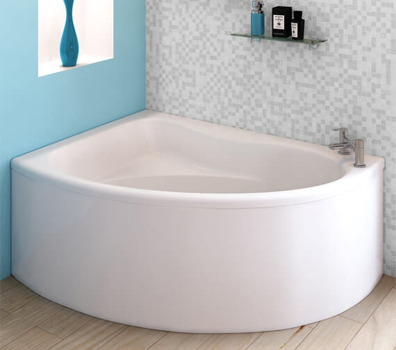 Additional image of Nuie Premier Pilot 1450 x 950mm Left Hand Corner Bath With Panel