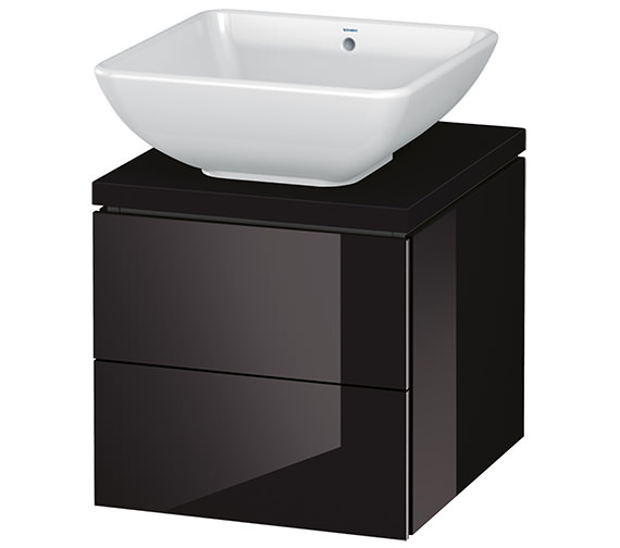 Alternate image of Duravit L-Cube 420mm 2 Drawer Vanity Unit For Console