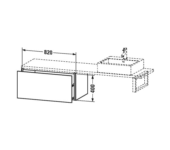 Technical drawing QS-V63391 / LC685201818