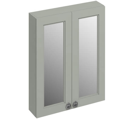 Additional image of Burlington 600mm Double Door Mirror Cabinet - More Finishes Available