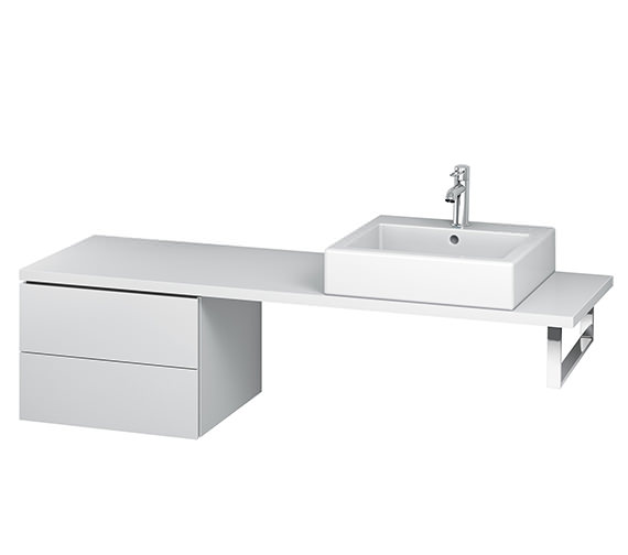 Duravit L-Cube 520mm 2 Drawer Floor Standing Vanity Unit For Console