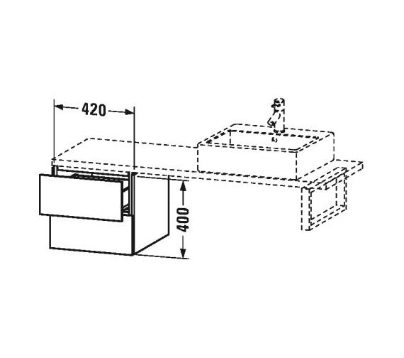 Technical drawing QS-V63400 / LC685901818