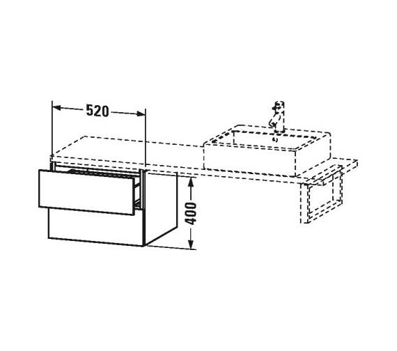 Technical drawing QS-V63401 / LC686001818