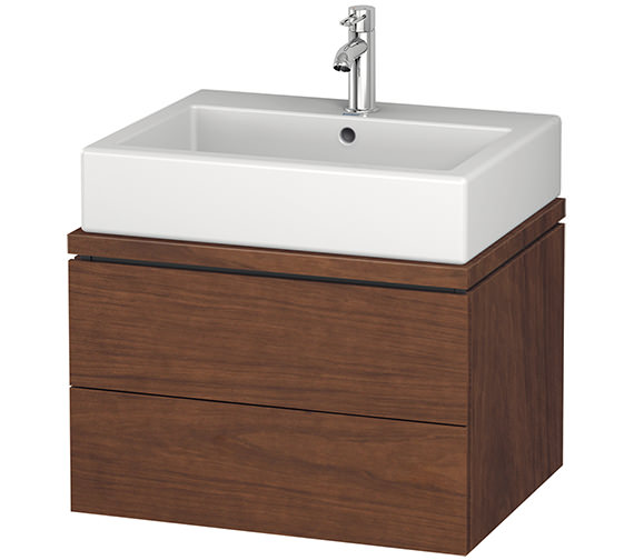 Alternate image of Duravit L-Cube 620mm 2 Drawer Vanity Unit For Console