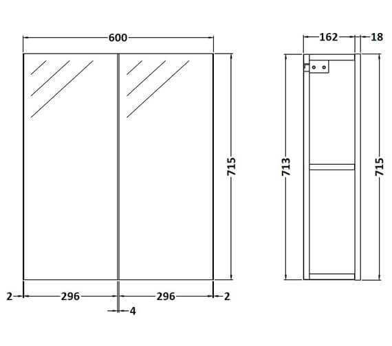 Technical drawing QS-V89284 / OFF117