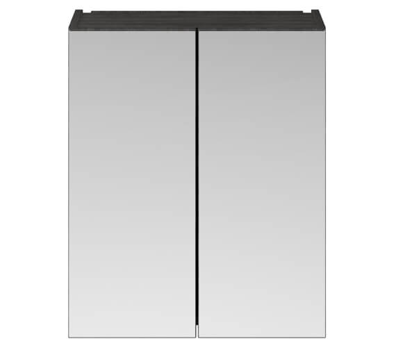 Alternate image of Nuie Athena 600mm Wall Mounted Mirror Cabinet