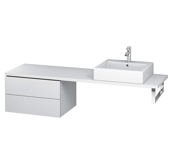Duravit L-Cube 620mm 2 Drawer Floor Standing Vanity Unit For Console