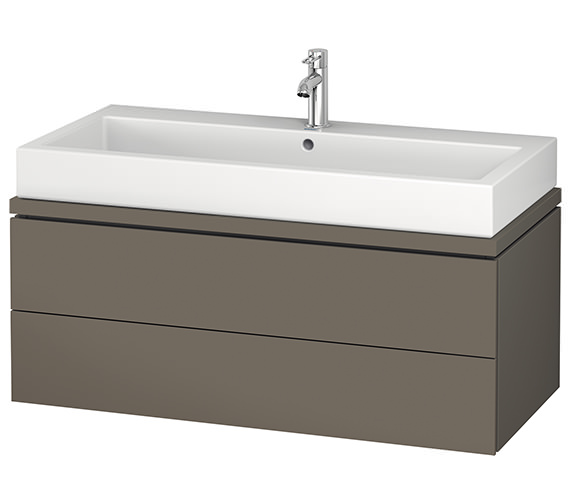Duravit L-Cube 1020mm 2 Drawer Vanity Unit For Console