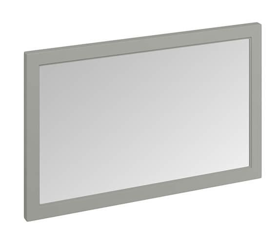 Additional image of Burlington 1200 x 750mm Matt White Framed Mirror