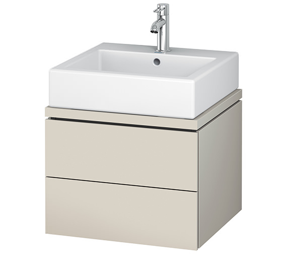 Alternate image of Duravit L-Cube 520mm 2 Drawer Vanity Unit For Console