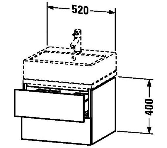 Technical drawing QS-V63371 / LC682001818