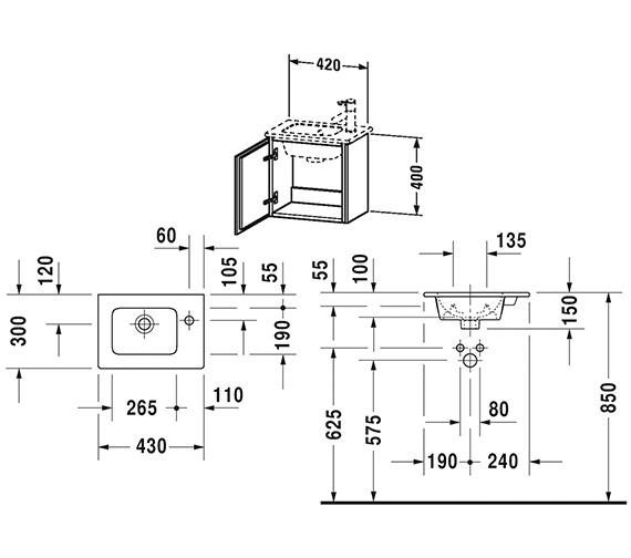 Technical drawing QS-V63798 / LC6272L1818