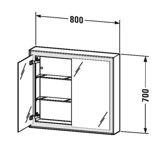 Technical drawing QS-V81951 / LC755100000