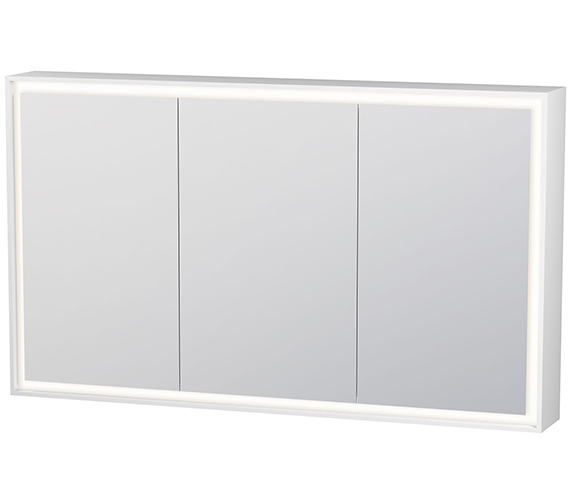 Duravit L-Cube 2000mm 3 Door Mirror Cabinet