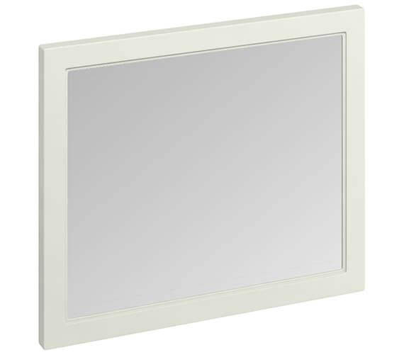Additional image of Burlington 900 x 750mm Matt White Framed Mirror