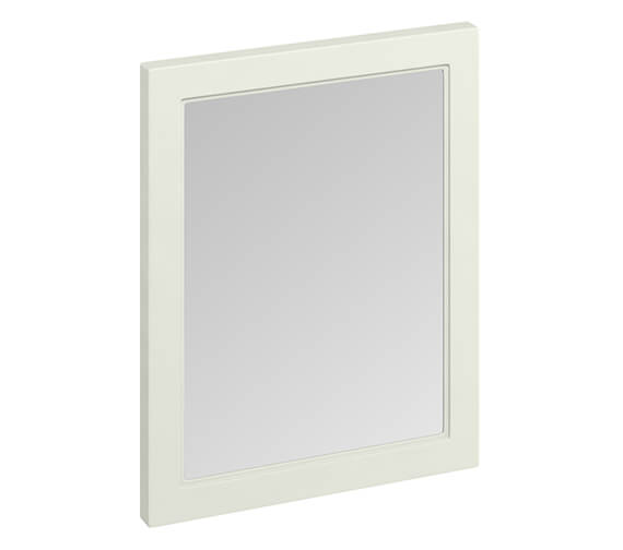 Additional image of Burlington 600 x 750mm Matt White Framed Mirror - More Finishes Available