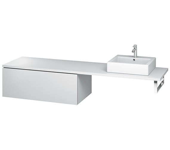 Duravit L-Cube 1020mm Single Drawer Floor Standing Vanity Unit For Console