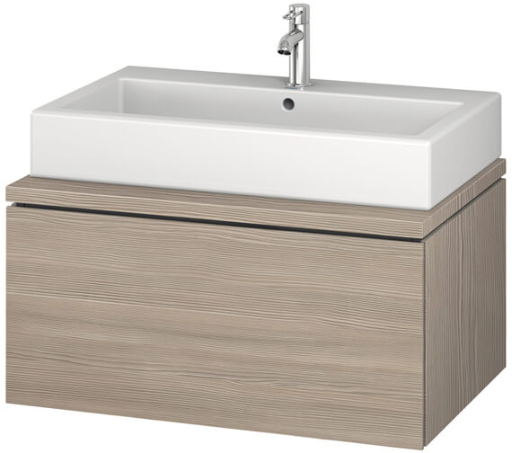 Additional image of Duravit L-Cube 820mm White Matt Single Drawer Wall Hung Vanity Unit For Console