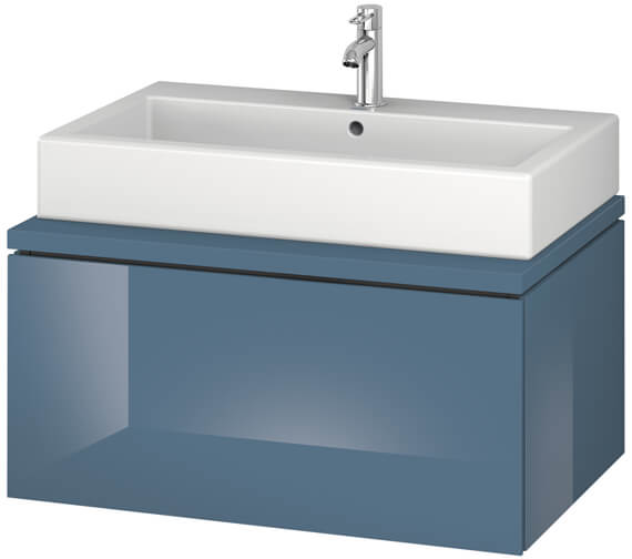 Alternate image of Duravit L-Cube 820mm Single Drawer Wall Hung Vanity Unit For Console