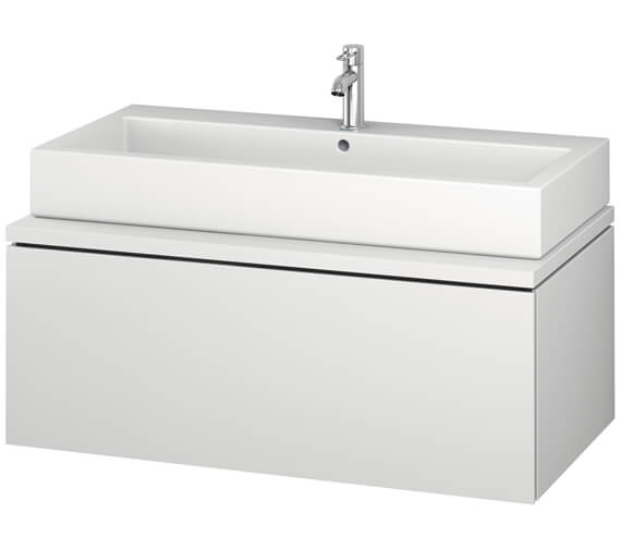 Duravit L-Cube 1020mm Single Drawer Wall Hung Vanity Unit For Console