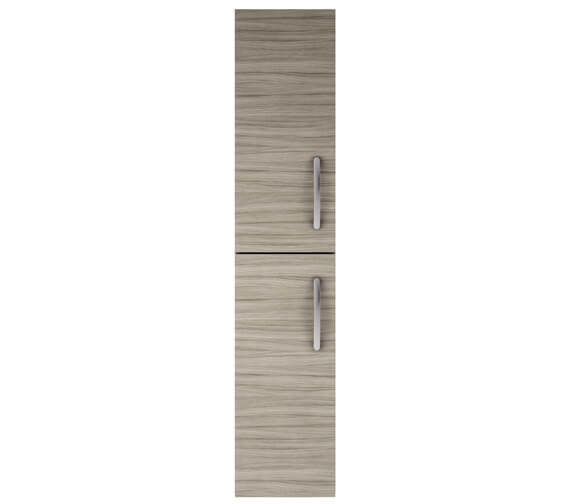 Additional image of Nuie Athena 300mm Gloss White Double Door Wall Hung Tall Unit