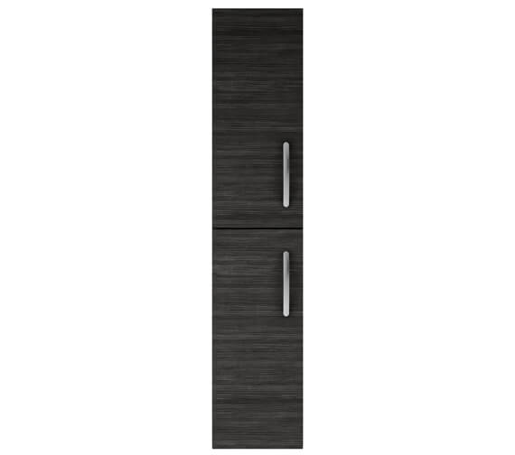 Alternate image of Nuie Athena 300mm Gloss White Double Door Wall Hung Tall Unit