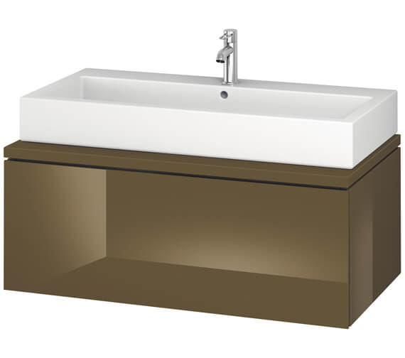 Alternate image of Duravit L-Cube 1020mm Single Drawer Wall Hung Vanity Unit For Console