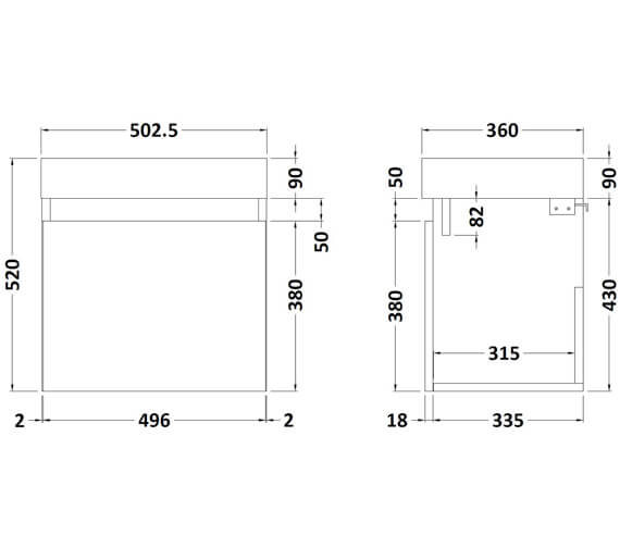 Technical drawing QS-V89289 / MER001