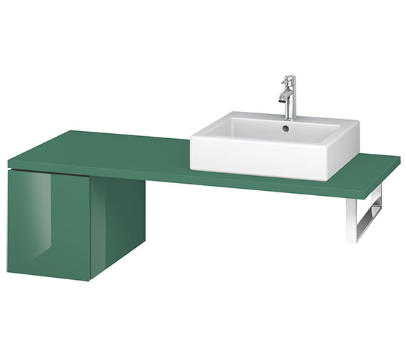 Alternate image of Duravit L-Cube 320mm Single Drawer Floor Standing Vanity Unit For Console
